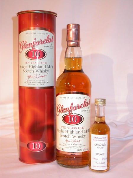Glenfarclas 10 Jahre 40%vol. Sample 0,05l