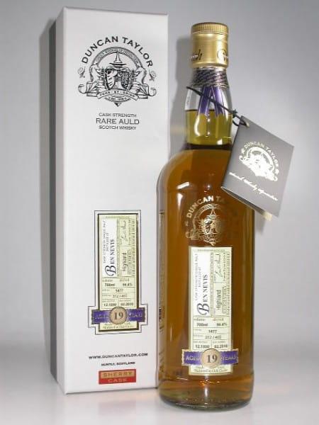 Ben Nevis 19 Jahre Sherry Cask 1990/2010 Rare Auld Duncan Taylor 56,4%vol. 0,7l