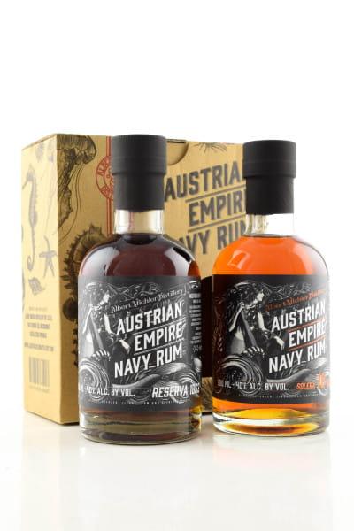Austrian Empire Navy Rum 40%vol. 2x 0,2l