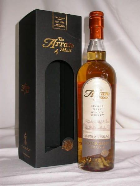 Arran 1996/2007 Bourbon Cask #2092 54,4%vol. 0,7l