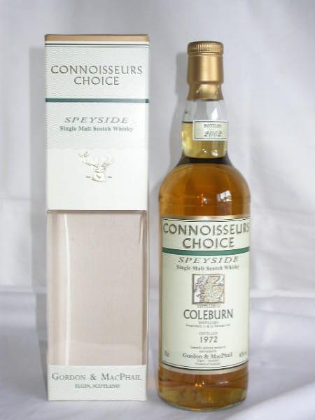 Coleburn 1972/2002 Gordon & MacPhail Connoisseurs Choice 40%vol. 0,7l