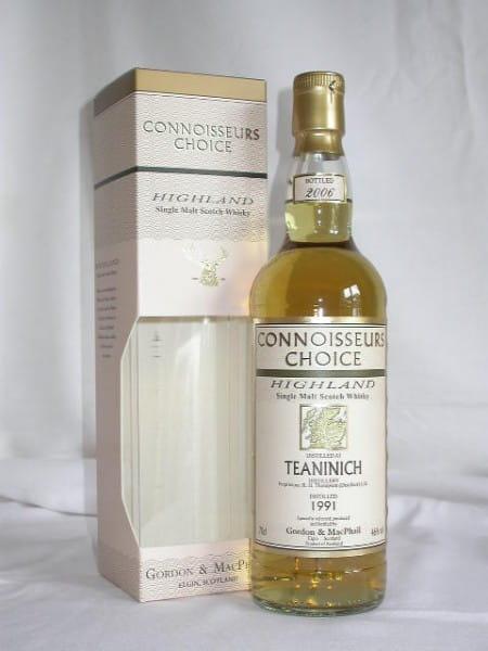Teaninich 1991/2006 Gordon & MacPhail Connoisseurs Ch. 46%vol. 0,7l