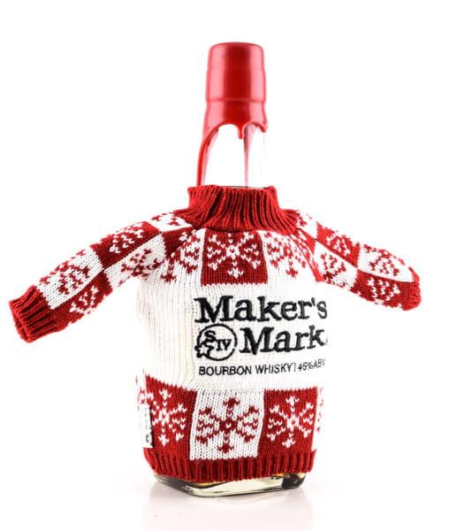 Maker's Mark Kentucky Straight 45%vol. 0,7l - Red Seal Jumper Christmas Edition