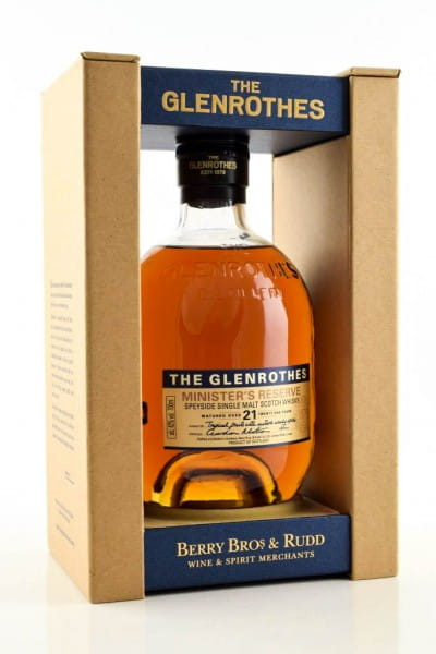 Glenrothes Minister's Reserve 21 Jahre 43%vol. 0,7l