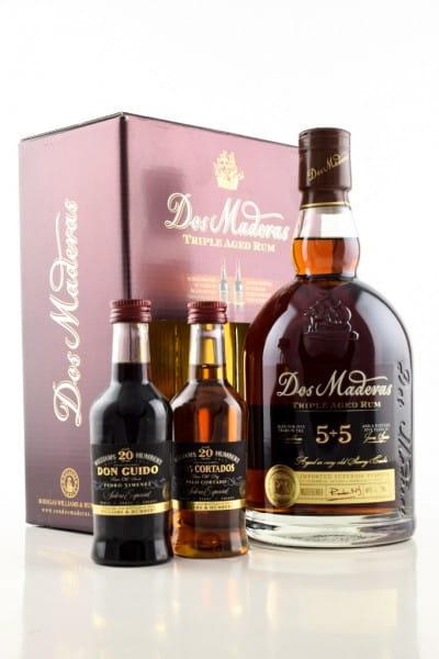 Dos Maderas PX 5+5 Jahre 40%vol. 0,7l & 2x 0,1l Sherry