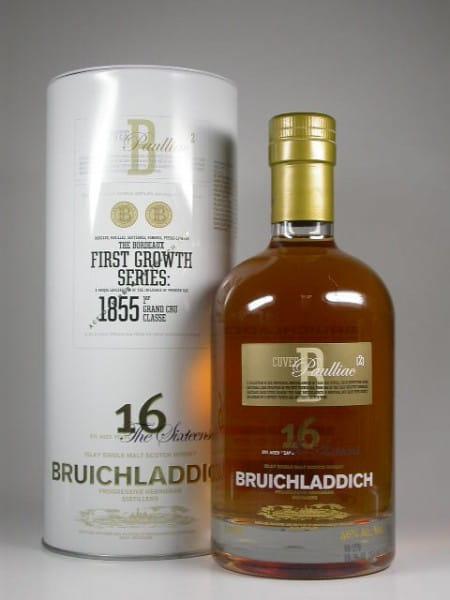 Bruichladdich First Growth Series 16 Jahre Cuvee B Paulliac/2 46%vol. 0,7l