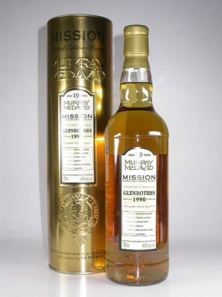 Glenrothes 1990/2009 Bourbon/Jurancon Murray McDavid Gold Series 48,8%vol. 0,7l