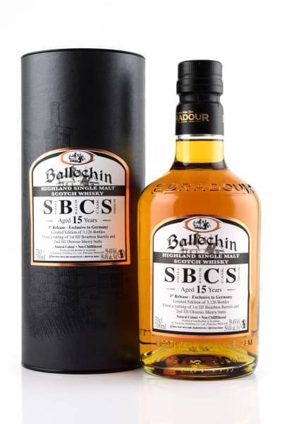 Ballechin 15 Jahre SBCS 1st Release 59,4%vol. 0,7l