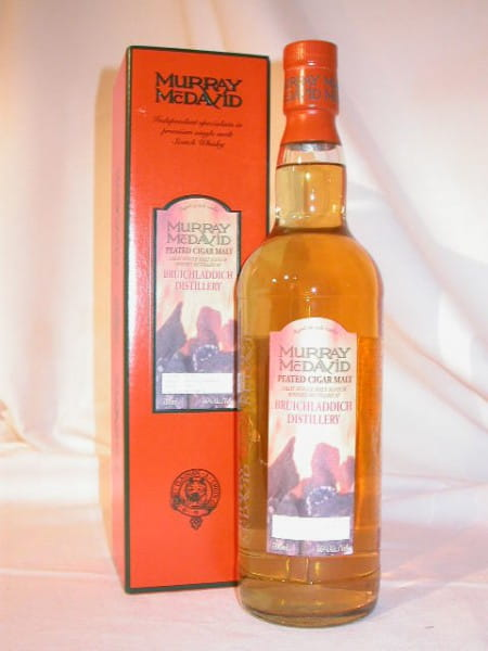 Bruichladdich Peated Cigar Malt Btl. 2004 Murray McDavid 46%vol. 0,7l