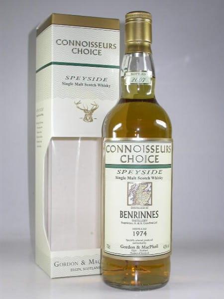Benrinnes 1974/2007 Gordon & MacPhail Connoisseurs Ch. 43%vol. 0,7l