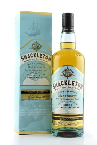 MacKinlay's Shackleton 40%vol. 0,7l