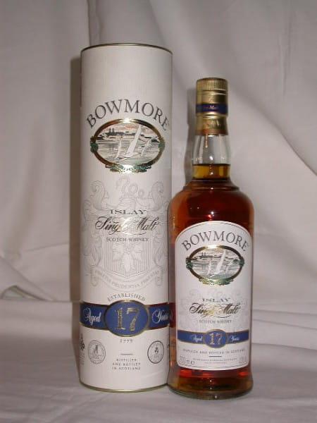 Bowmore 17 Jahre 43%vol. 0,7l