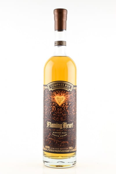 Flaming Heart 2018 Compass Box 48,9%vol. 1,5l