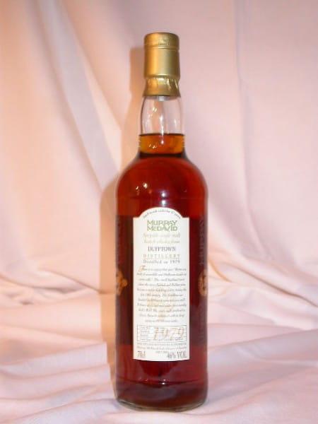Dufftown 1979/1997 Refill Sherry Murray McDavid 46%vol. 0,7l