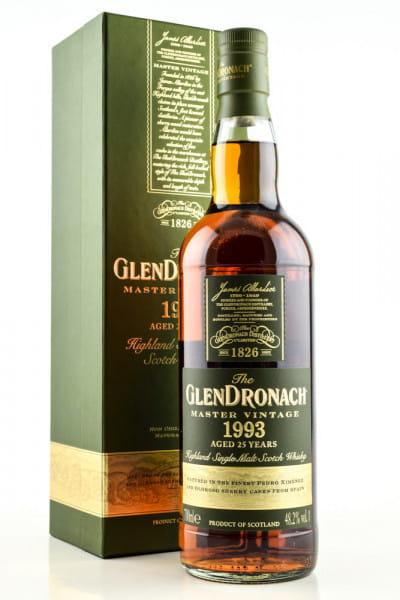 Glendronach Master Vintage 1993 25 Jahre 48,2%vol. 0,7l