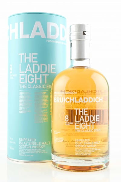"Bruichladdich 8 Jahre ""The Laddie Eight"" 50%vol. 0,7l"