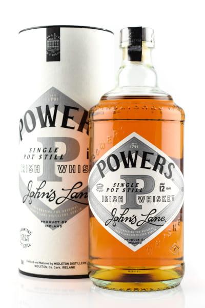 Powers 12 Jahre John's Lane Release 46%vol. 0,7l