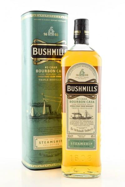 Bushmills Steamship Coll. #3 Char Bourbon Cask Reserve 40%vol. 1,0l