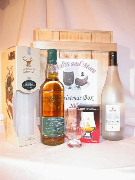 Christmas Box - Gordon & MacPhail St Magdalene '75 & Glas&Wasser