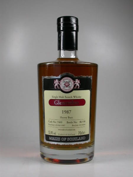 Glenrothes 1987/2009 Sherry Butt Malts of Scotland 53,4%vol. 0,7l