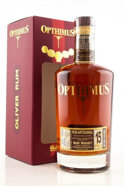 Opthimus 15 Jahre Solera Whisky Finish Rum 43%vol. 0,7l