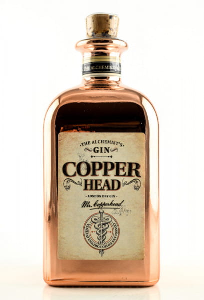 Copperhead London Dry Gin 40%vol. 0,5l