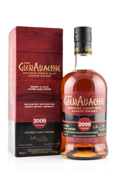 GlenAllachie 2009/2021 Sherry & Rioja Cuvée Cask Finish 56,1%vol. 0,7l
