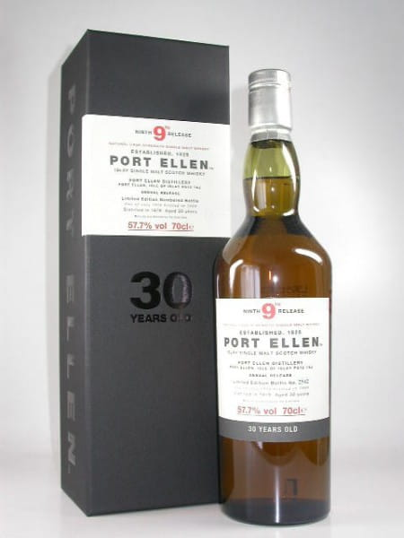 Port Ellen 30 Jahre 1979/2009 9th Release 57,7%vol. 0,7l