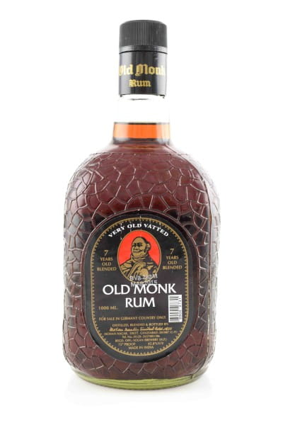 Old Monk Rum 7 Jahre very old Vatted 42,8%vol. 1,0l