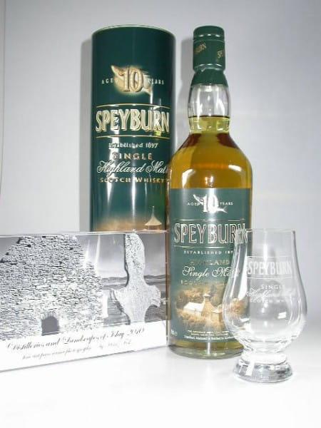 Speyburn 10 Jahre 40%vol. 0,7l mit Glas & Tischkalender (Christmas Pack)
