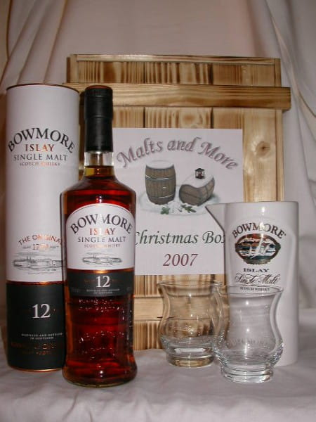 Bowmore Christmas Box inkl. Krug & 2 Gläser