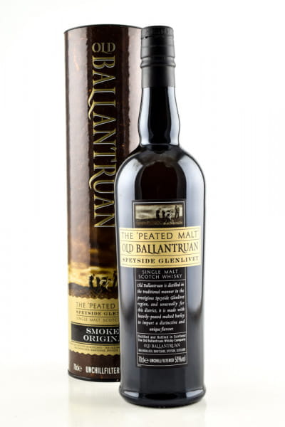 "Old Ballantruan ""The Peated Malt"" 50%vol. 0,7l"