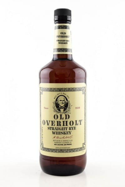Old Overholt 3 Jahre Straight Rye Whiskey 40%vol. 1,0l