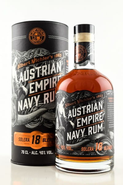 Austrian Empire Navy Rum Solera 18 40%vol. 0,7l