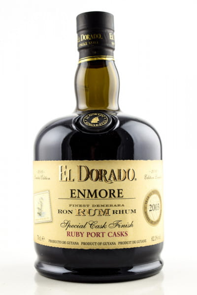 El Dorado Enmore 2003 Ruby Port Cask Finish 62,1%vol. 0,7l