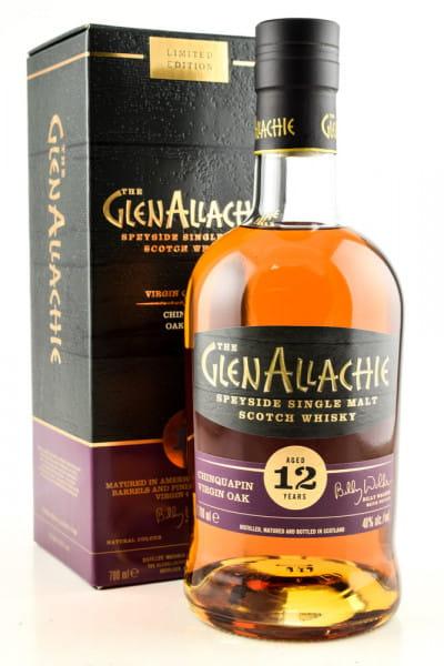 GlenAllachie 12 Jahre Chinquapin Oak Wood Finish 48%vol. 0,7l
