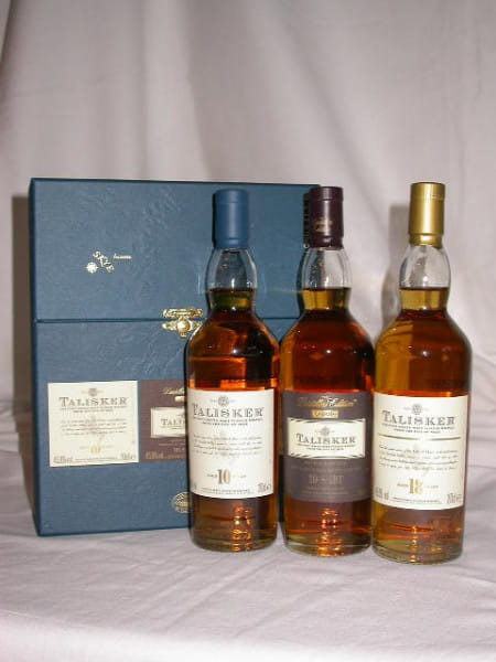 Talisker Collection 10 Jahre/Distillers Edition/18 Jahre 3x 0,2l