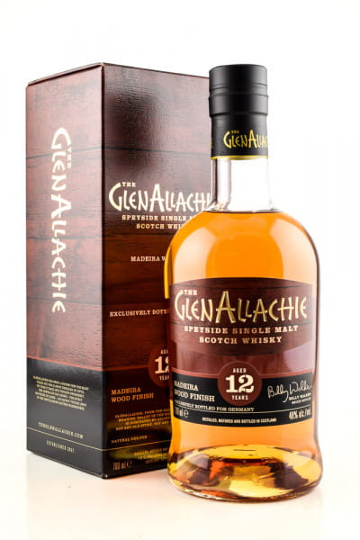 GlenAllachie 12 Jahre Madeira Wood Finish 48%vol. 0,7l