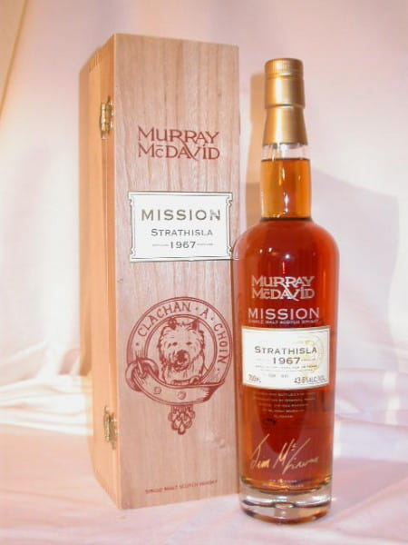 Strathisla 1967/2006 Murray McDavid Mission C.S. 43,6%vol. 0,7l