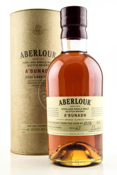 Aberlour a'bunadh Batch No. 63 61%vol. 0,7l