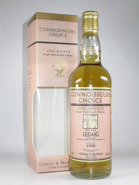 Ledaig 1990/2007 Gordon & MacPhail Connoisseurs Ch. 43%vol. 0,7l