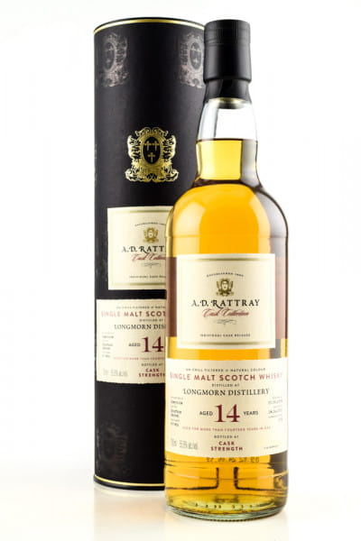 Longmorn 14 Jahre 2004/2019 A.D. Rattray Bourbon Barrel #800456 55,8%vol. 0,7l