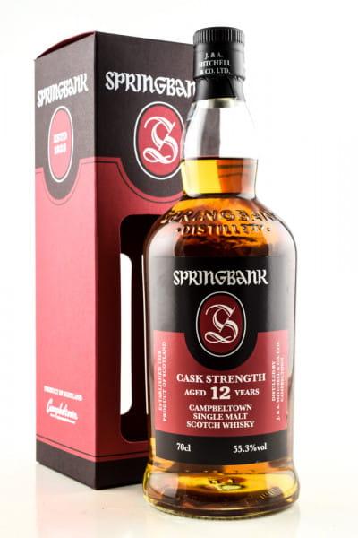 Springbank 12 Jahre Cask Strength 55,3%vol. 0,7l