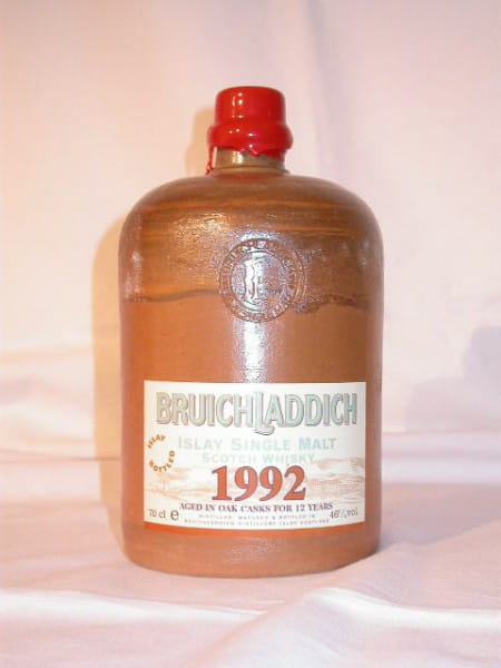 Bruichladdich 1992/2004 Steinkrug 46%vol. 0,7l