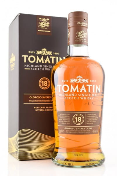 Tomatin 18 Jahre 46%vol. 0,7l