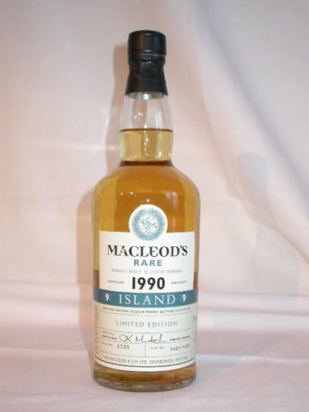 MacLeod's Rare 1990 Cask No. 1401-1405 (Talisker) 43%vol. 0,7l