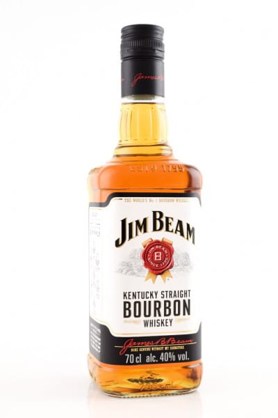 Jim Beam Kentucky Straight Bourbon 40%vol. 0,7l