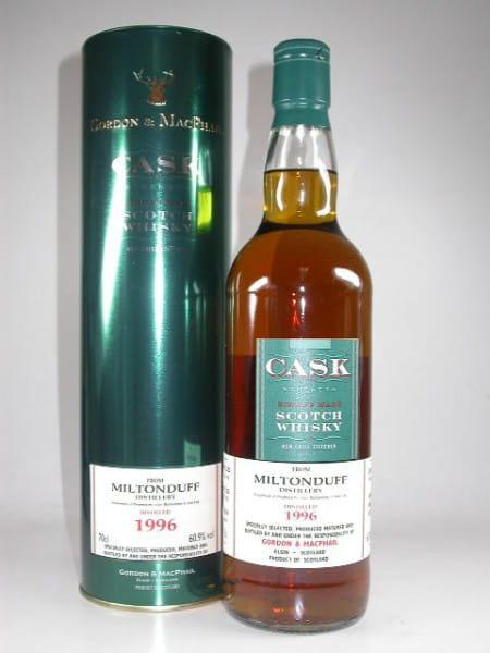 Miltonduff 1996/2007 Refill Sherry Butts Gordon & MacPhail 60,9%vol. 0,7l