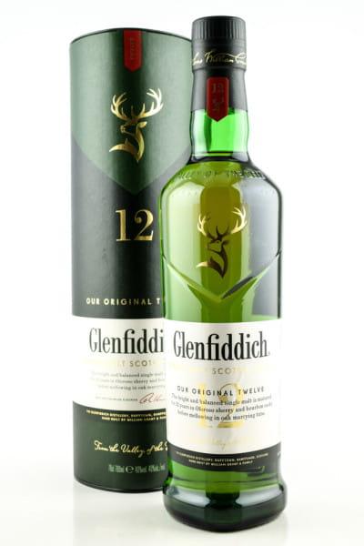 Glenfiddich 12 Jahre 40%vol. 0,7l