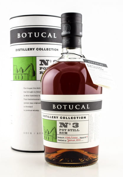 Botucal Distillery Coll. No. 3 Pot Still 47%vol. 0,7l